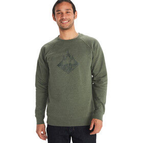 Marmot Forest Sweatshirt med rund hals Herrer, oliven